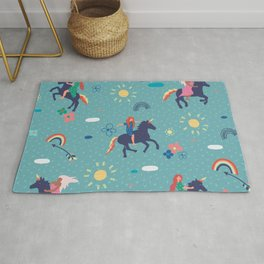 Ride away with me Rug