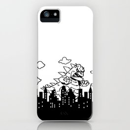 Gino Stomp iPhone Case