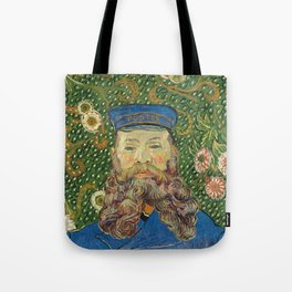 Portrait of the Postman Joseph Roulin by Vincent van Gogh Tote Bag