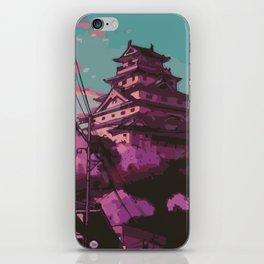 Hasetsu Castle iPhone Skin