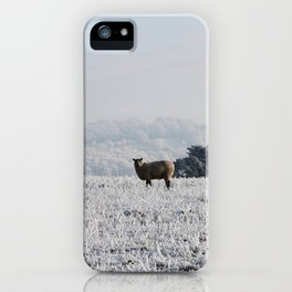 Winter Sheep iPhone Case