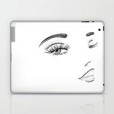 Eyes on You Black & White Laptop & iPad Skin