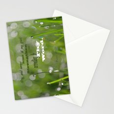 Psalm 119 Tears Stationery Cards