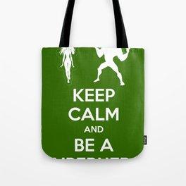 Keep Calm and Be a Superhero Tote Bag