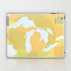 The GREAT LAKES of NORTH AMERICA Laptop & iPad Skin