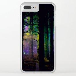 Fairy dust everywhere Clear iPhone Case