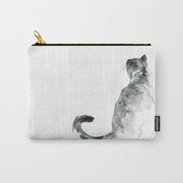 Cat at the Windowsill Carry-All Pouch