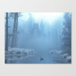 Winter in Blue Canvas Print