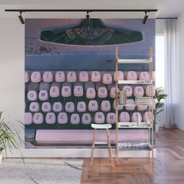 #01#Typewriter#vintage#machine Wall Mural