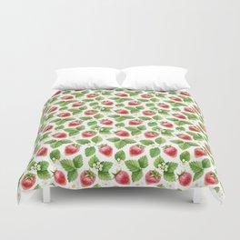 Strawberry jam Duvet Cover