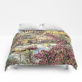 Greece Comforters
