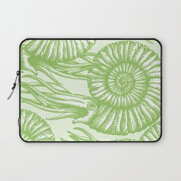 AMMONITE COLLECTION GREEN Laptop Sleeve