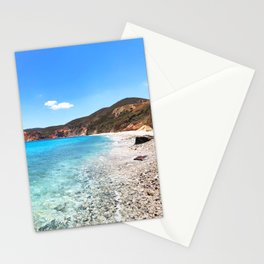 230. Paradise Beach, Greece Stationery Cards