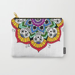 mandalavera de colores Carry-All Pouch