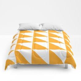 Geometric Pattern 01 Yellow Comforters
