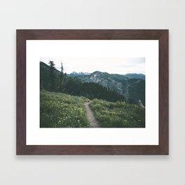 Happy Trails III Framed Art Print