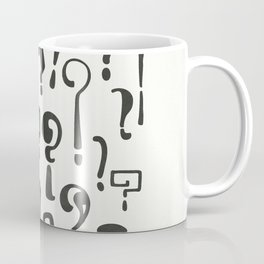 Question marks Coffee Mug