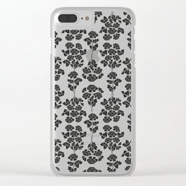 Roses bouquet pattern Clear iPhone Case