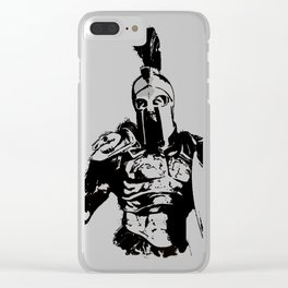 Battleborn, Spartan Warrior Clear iPhone Case
