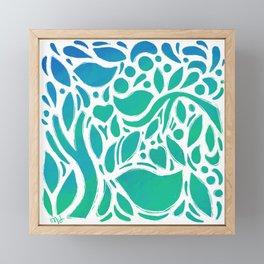 Ocean Garden Framed Mini Art Print