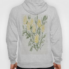 Yellow Roses Hoody
