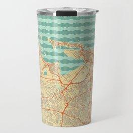 San Juan Map Retro Travel Mug