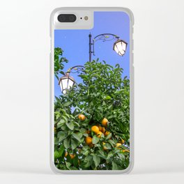 One Night Under The Stars Clear iPhone Case