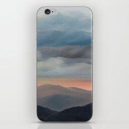 Sunset on the Blue Ridge Parkway iPhone Skin