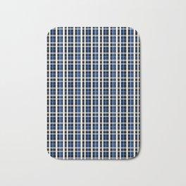 The checkered pattern . Bath Mat