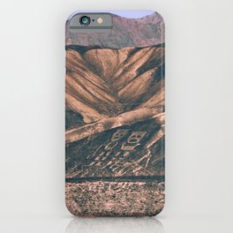 Geoglyphics iPhone Case