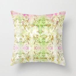 Floral Softness Throw Pillow