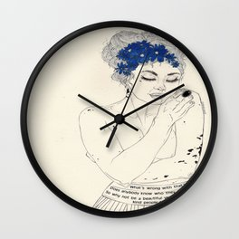 You Are An Empty Vessel Wall Clock