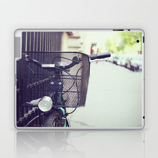 Bike in Paris Laptop & iPad Skin