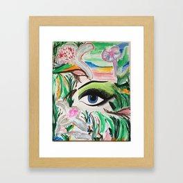 I'm Here. Original Painting by Jodilynpaintings. Abstract Artwork. Framed Art Print