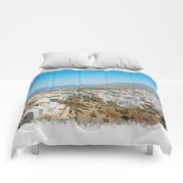 Fira, Santorini Comforters