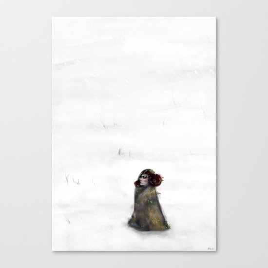 Waste for the Journey Canvas Print