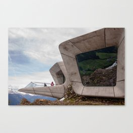 Messner Mountain Museum Corones  | Zaha Hadid Architects Canvas Print