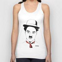 charlie chaplin Tank Tops featuring Charlie Chaplin by ArpanDholi