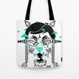 evilcat by s-fly Tote Bag