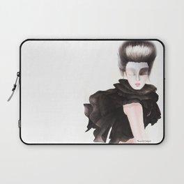 Black Chiffon Laptop Sleeve