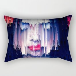 The Rain and purple poetry Rectangular Pillow