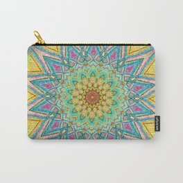 Burst Mandala 0118 Carry-All Pouch