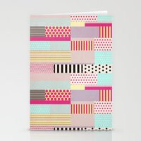 tape Stationery Cards featuring Decorative Tape by Louise Machado