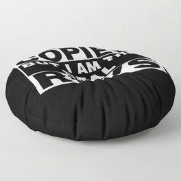 I Am Rhys Funny Personal Personalized Fun Floor Pillow