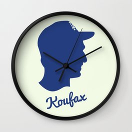 Sandy Koufax  Wall Clock