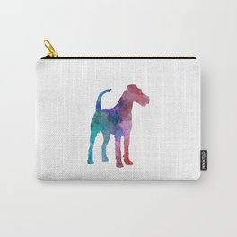 Irish Terrier in watercolor Carry-All Pouch