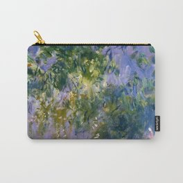 """Claude Monet """"Wisteria"""", 1920 (right side) Carry-All Pouch"""