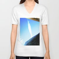 rare V-neck T-shirts featuring Rare cloud. by Alejandra Triana Muñoz (Alejandra Sweet
