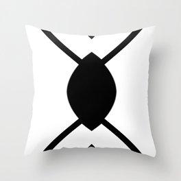 Graphic Connexion N1 Throw Pillow