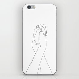 Never Let Me Go II iPhone Skin